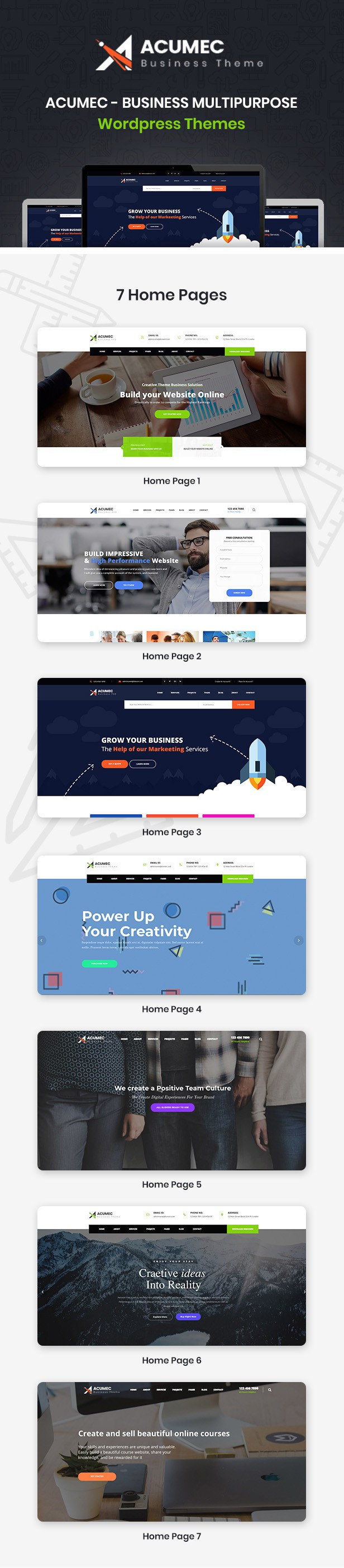 Acumec - Business Mehrzweck WordPress Theme - 10