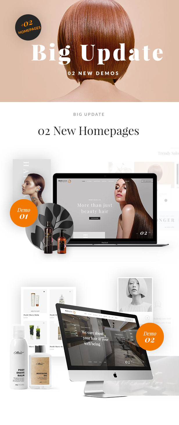 Friseursalon Baber Shop WP Theme