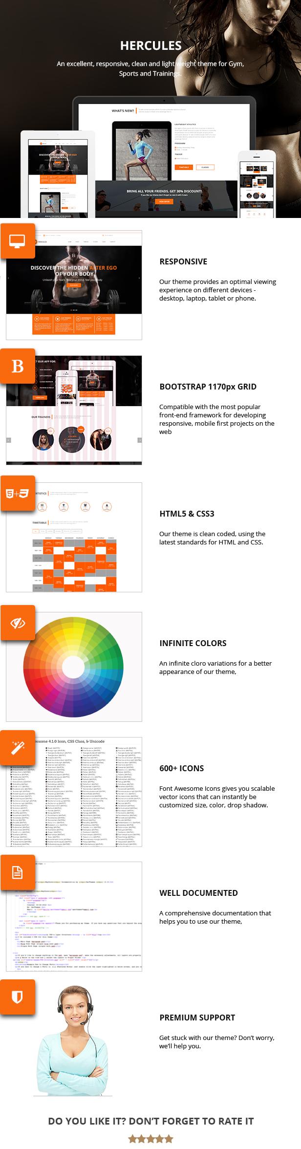 Fitnessstudio | Fitnessstudio Fitness WordPress Theme | Herkules RTL - 1
