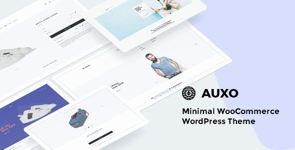 Wordpress Shop Template Auxo – Minimal WooCommerce Shopping WordPress Theme