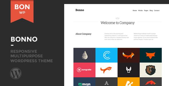 Wordpress Corporate Template Bonno - Responsive Multipurpose WordPress Theme