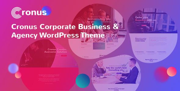 Wordpress Immobilien Template Cronus Plus - Corporate Business and Agency WordPress Theme