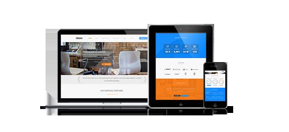 Wordpress Corporate Template Digan Multipurpose WordPress Business Theme