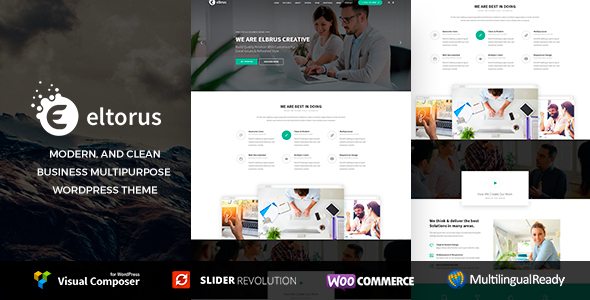 Wordpress Immobilien Template Eltorus - Creative Business Theme