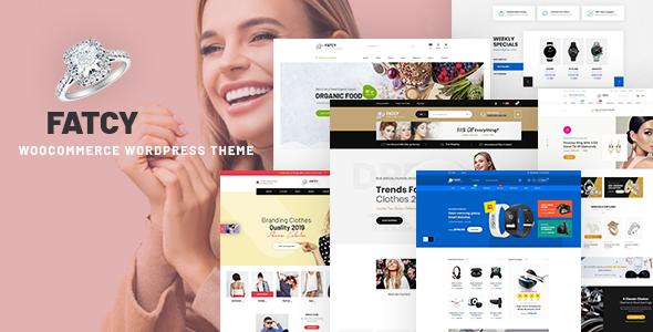 Wordpress Shop Template Fatcy - Multipurpose WooCommerce WordPress Theme