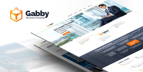 Wordpress Corporate Template Gabby - Unique Multipurpose WordPress Theme