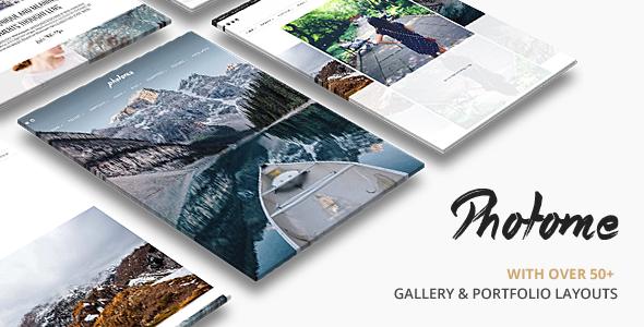 Wordpress Kreativ Template PhotoMe | Portfolio WordPress