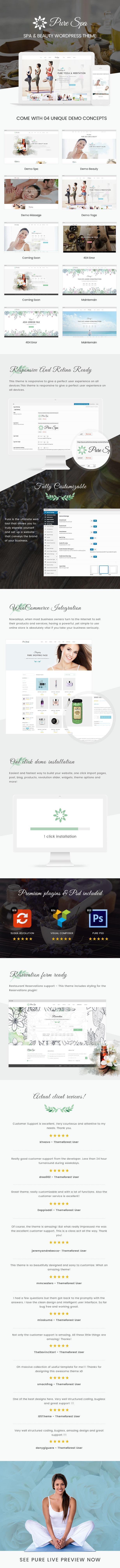 Spa und Beauty-WordPress-Thema