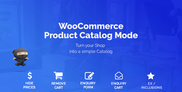 Wordpress E-Commerce Plugin WooCommerce Product Catalog Mode & Enquiry Form