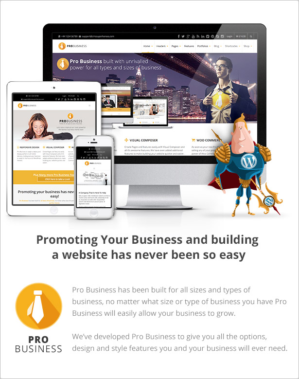 PRO Business - Responsive Mehrzweck-Theme - 6