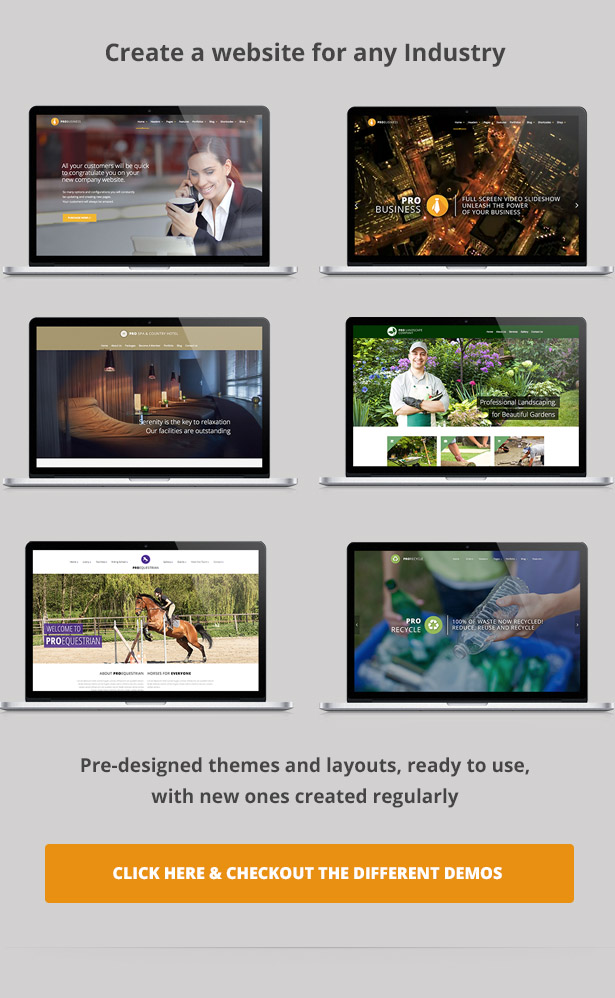 PRO Business - Responsive Mehrzweck-Theme - 4