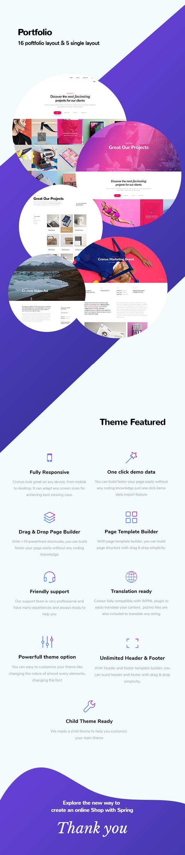 Cronus Plus - Corporate Business und Agentur WordPress Theme - 2
