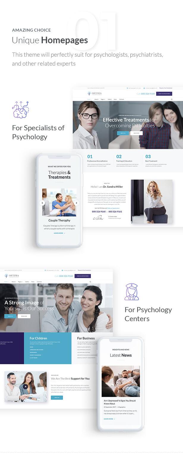 Optima-Psychologe und Psychologiezentrum - 2