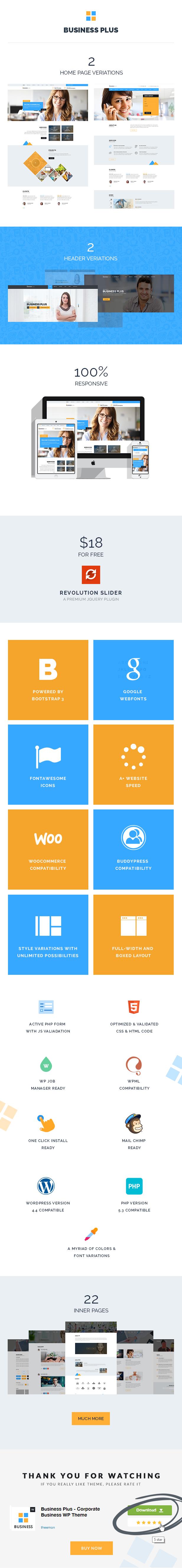 Unternehmens-Website-Vorlage