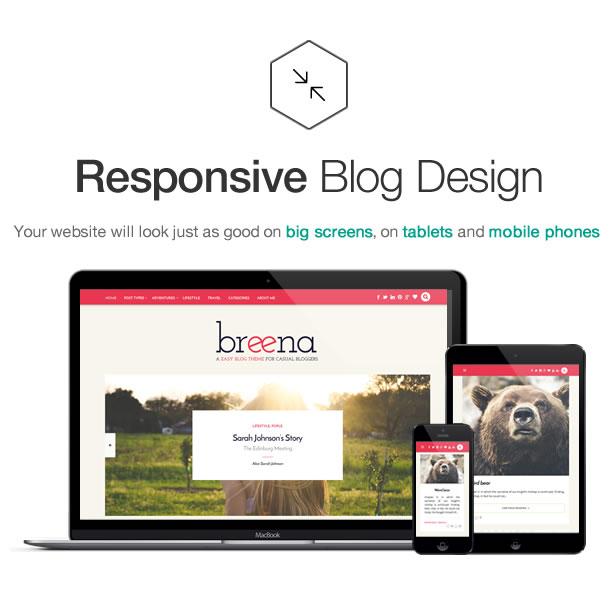 Breena - Ein ansprechendes WordPress-Blog-Thema - 5