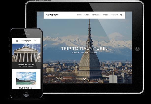 WPVoyager - Reiseblog WordPress Theme - 8