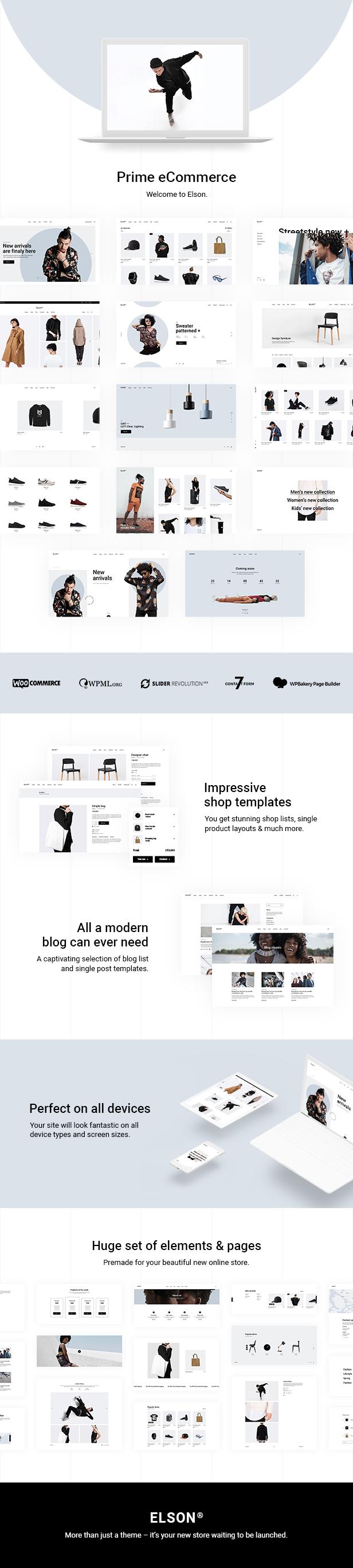 Elson - Modern Shop Theme - 2