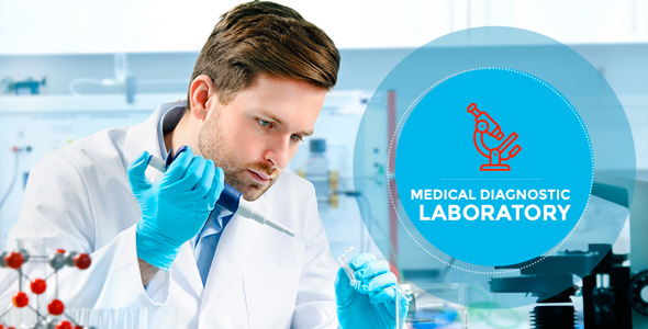 Wordpress Immobilien Template Laboratory - Research & Medical Diagnostic WP Theme
