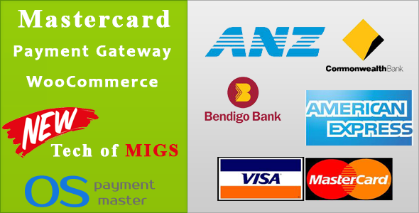 Wordpress E-Commerce Plugin Mastercard Payment Gateway WooCommerce