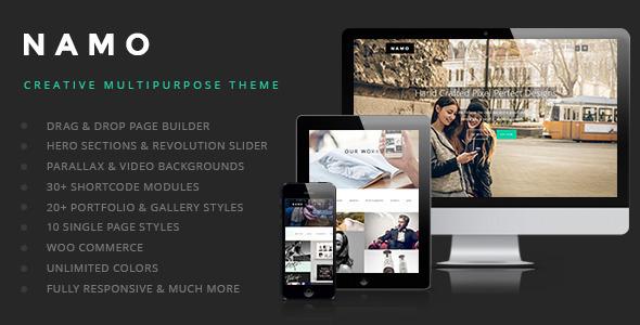 Wordpress Kreativ Template NAMO - Creative Multi-Purpose WordPress Theme