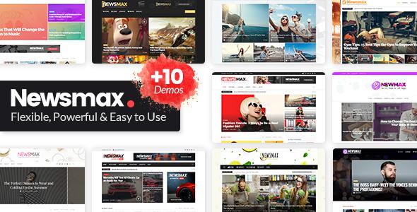 Wordpress Blog Template Newsmax - Multi-Purpose News & Magazine Theme