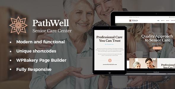 Wordpress Immobilien Template PathWell | A Senior Care Hospital WordPress Theme