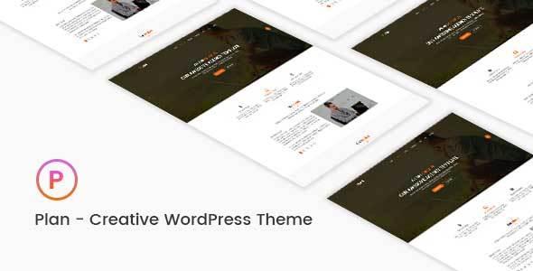 Wordpress Corporate Template Plan - Creative One & Multipurpose WordPress Theme