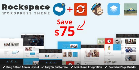 Wordpress Immobilien Template Rockspace - Multipurpose WordPress Theme