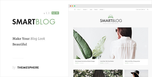 Wordpress Blog Template Smart Blog WordPress