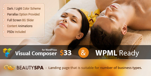 Wordpress Immobilien Template Spa - WordPress Theme with Page Builder