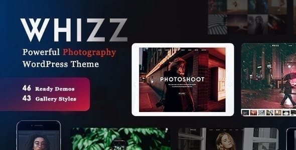 Wordpress Kreativ Template Whizz | Photography