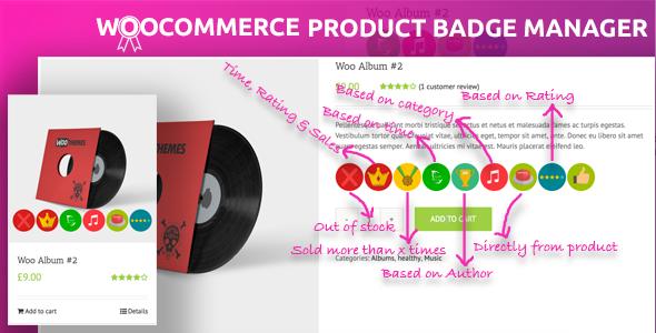 Wordpress E-Commerce Plugin Woocommerce Product Badge Manager