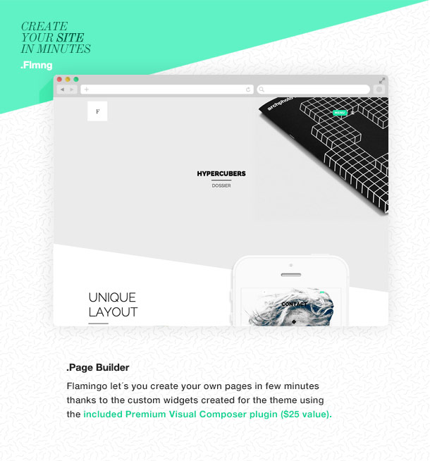 Flamingo - Agentur & Freelance Portfolio Theme für WordPress - 7