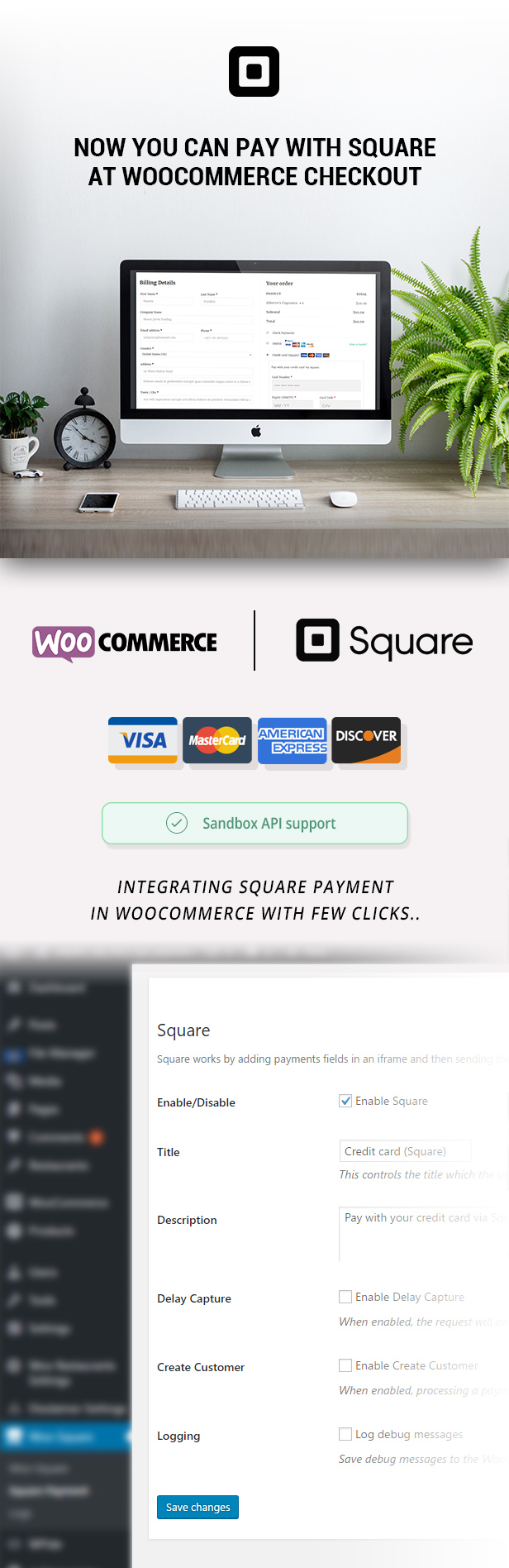WooCommerce Square Up Payment Gateway - 7