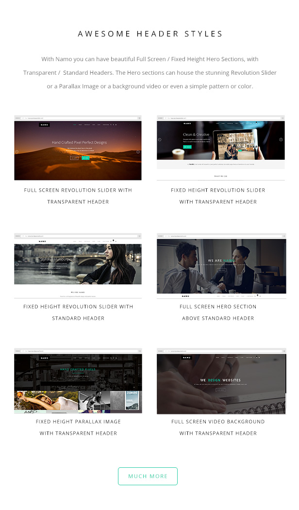 NAMO - Kreatives Mehrzweck-Wordpress-Theme - 6