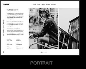 HOLZ - Ein ungewöhnliches Fotografie-WordPress-Thema - 2