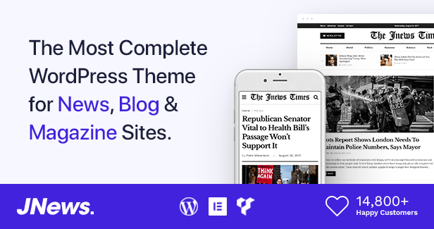 JMagz - Tech News Review Magazin WordPress Theme - 1