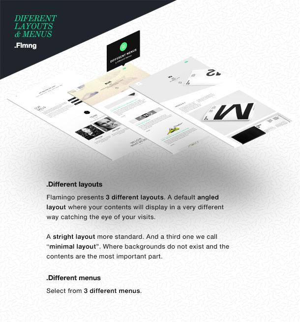 Flamingo - Agency & Freelance Portfolio Theme für WordPress - 6