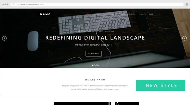 NAMO - Kreatives Mehrzweck-Wordpress-Theme - 4