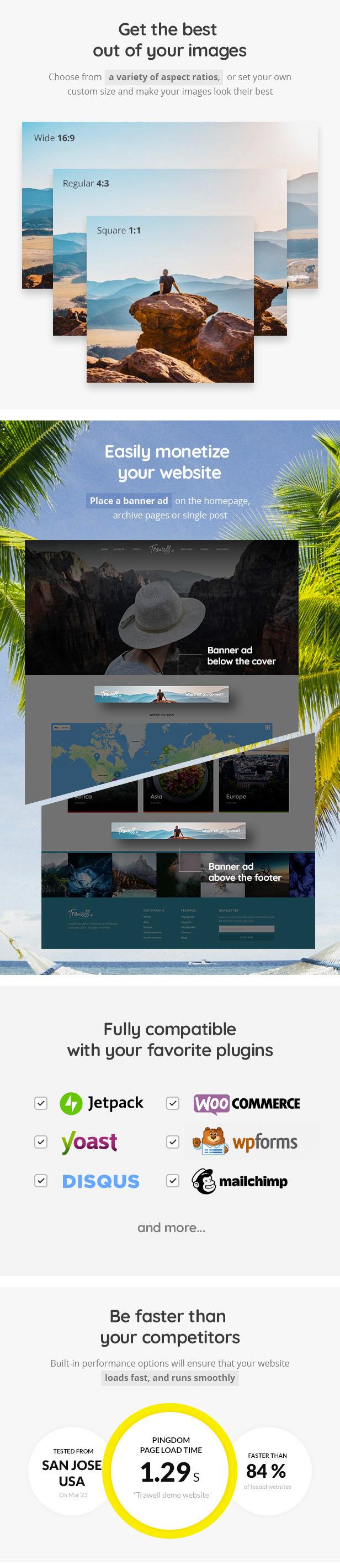 Trawell - WordPress-Reisethema