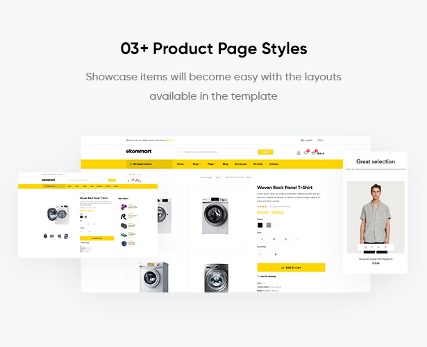ekommart - All-in-One-E-Commerce-WordPress-Theme