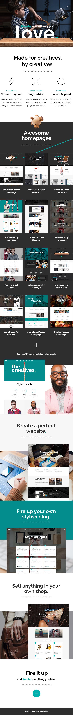 Kreate - Modern Creative Agency Theme - 1