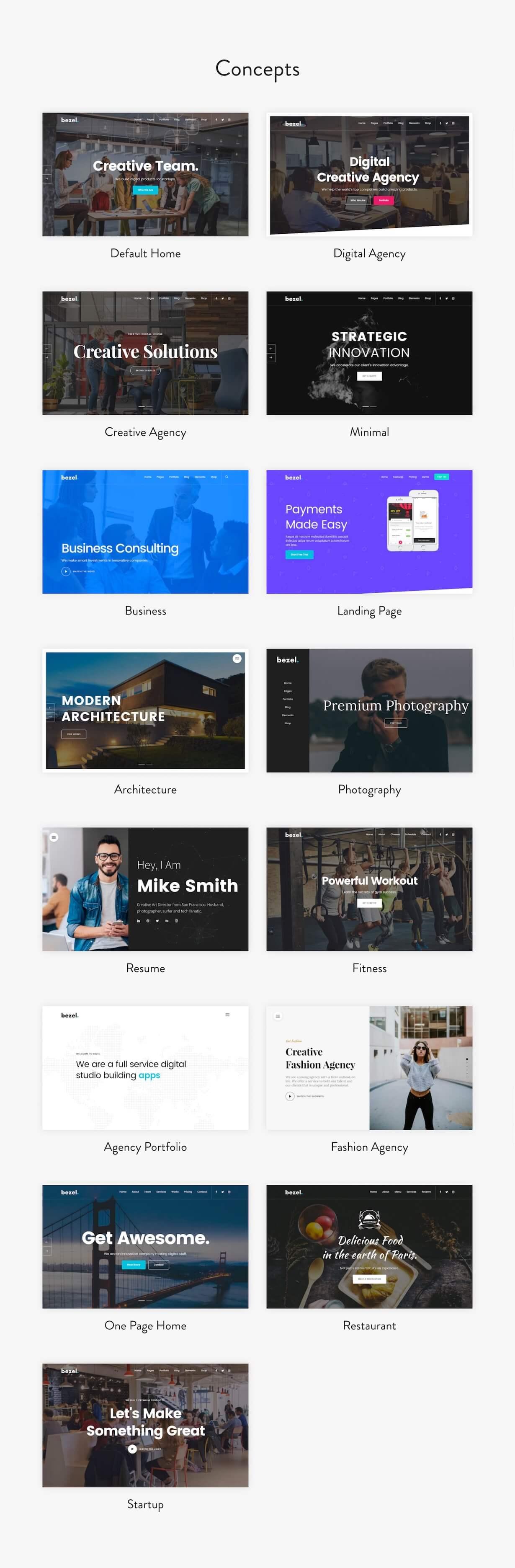 Lünette - Kreatives Mehrzweck-WordPress-Theme - 3