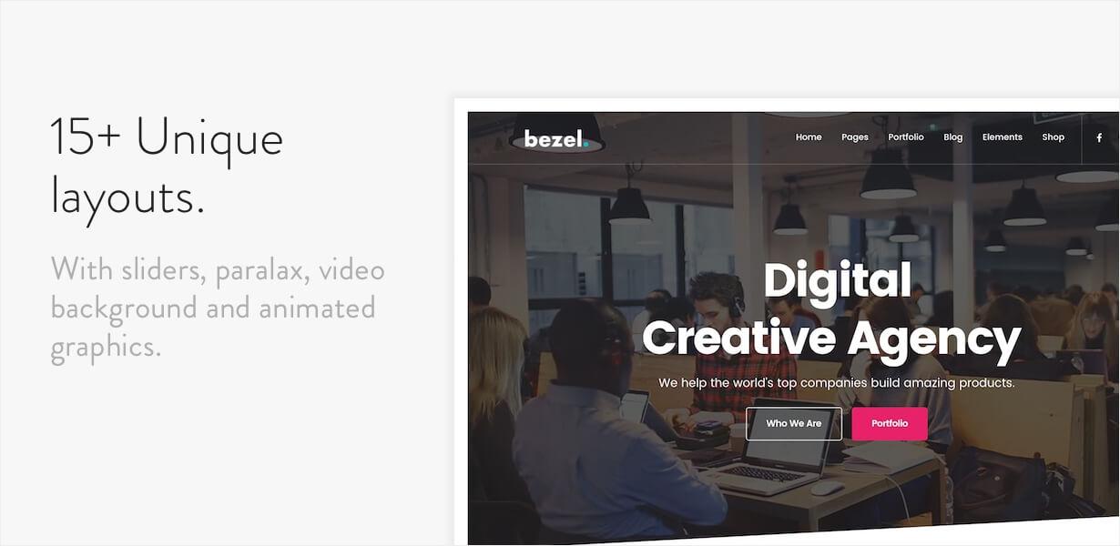 Lünette - Kreatives Mehrzweck-WordPress-Theme - 4
