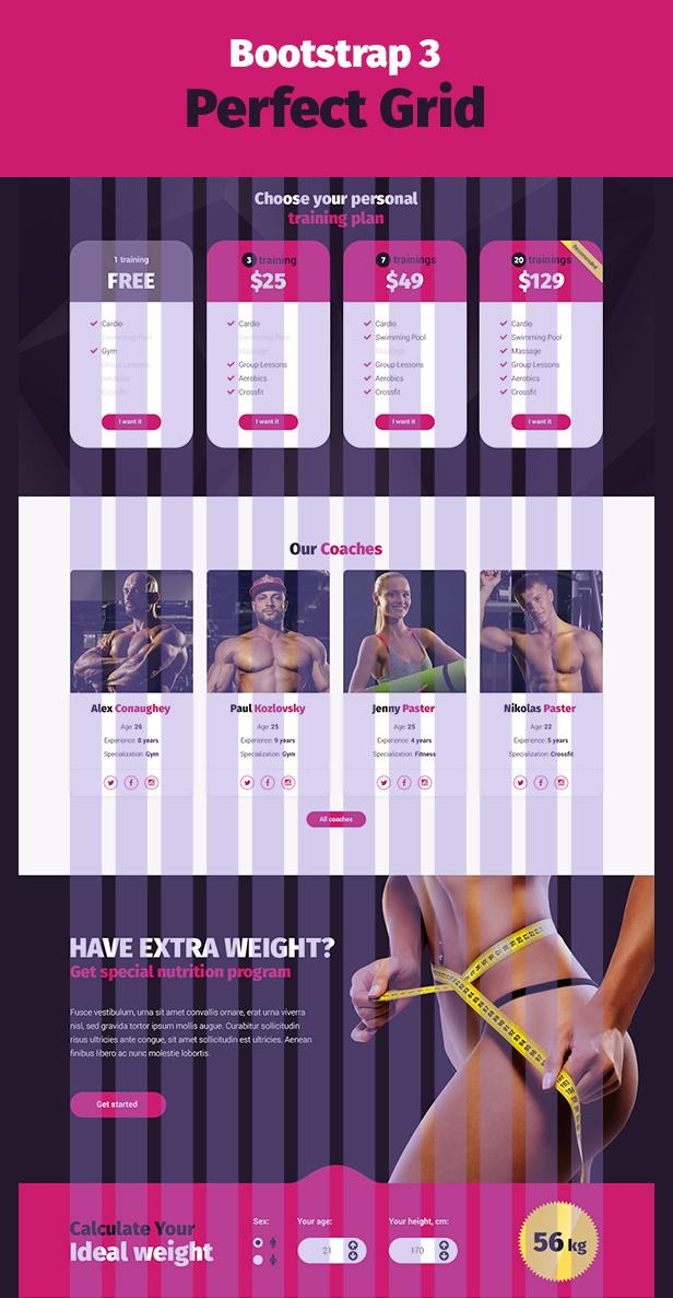 Stargym - Gym Trainer, Fitness Club und Gym WordPress Theme - 7