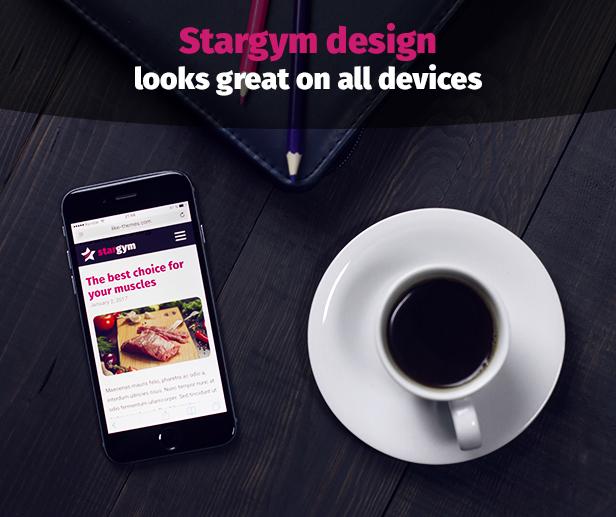 Stargym - Gym Trainer, Fitness Club und Gym WordPress Theme - 5