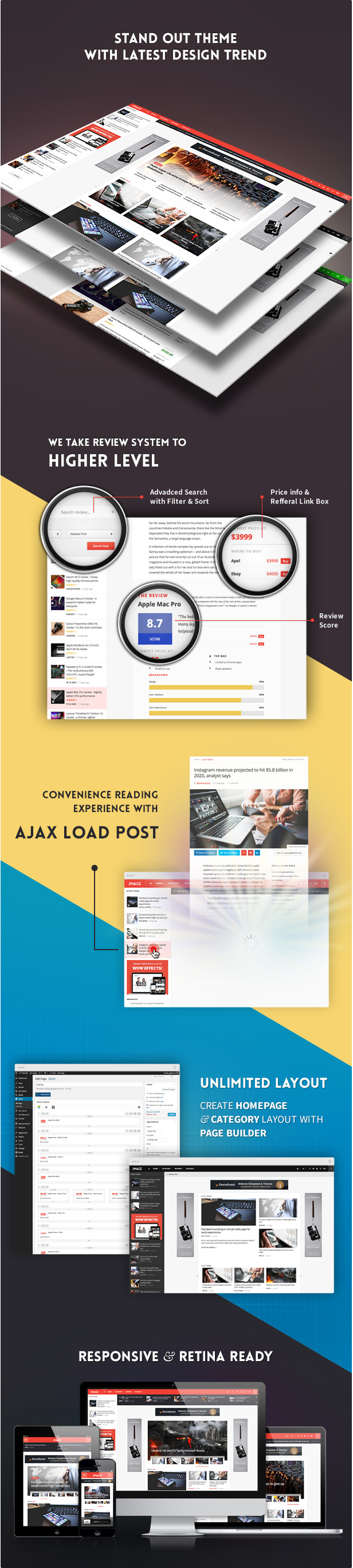 JMagz - Tech News Review Magazin WordPress Theme - 2