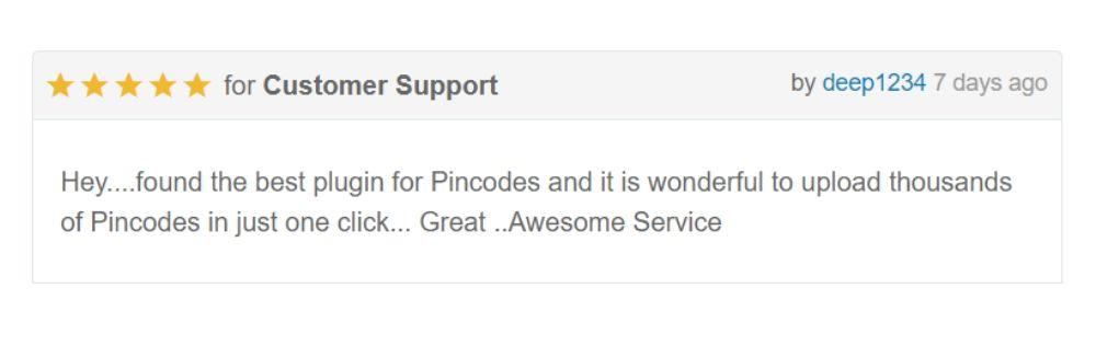 WooCommerce Pincode / Postleitzahl Checker - 6
