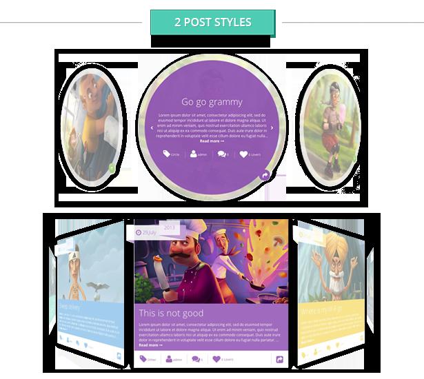 Storyline Board WordPress Theme - 5