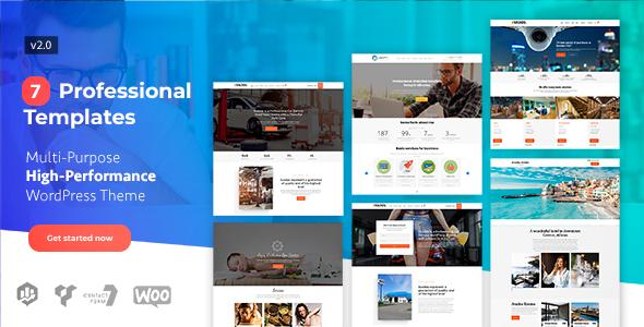 Wordpress Immobilien Template Avados - Multi-Purpose High-Performance Marketing Tool